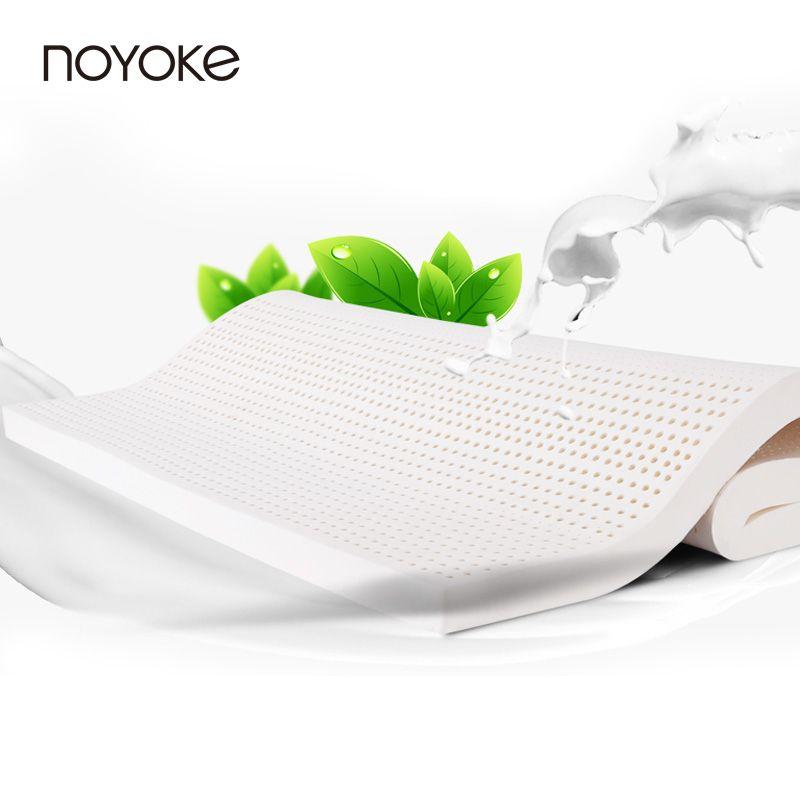Noyoke Таиланд натуральный латекс наматрасник Толщина 5 см латекс core складной мягкий матрас татами натурального латекса матрас-кровать