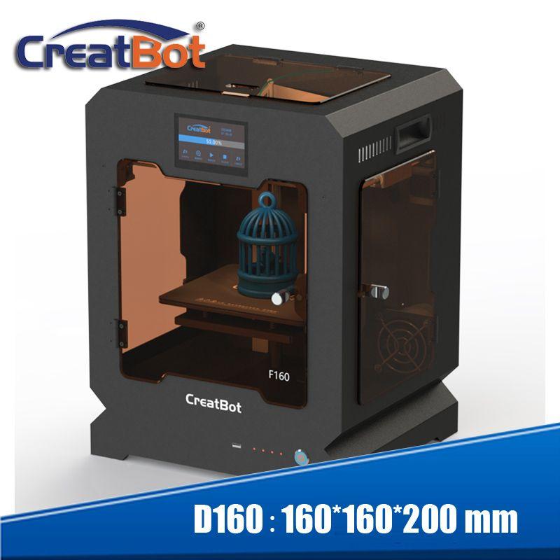 Creatbot 3d drucker hohe temperatur F160 PEEK druck maschine 160*160*200mm für schule bildung dental medizinische bereich