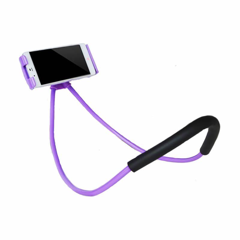 Support paresseux Universel 360 Degrés Rotation Flexible Support de Selfie De Téléphone Serpent Cou de Lit Support anti-dérapant Pour iPhone Android