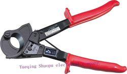 240mm Tangan HS-325A Ratchet Kabel Cutter Plier, Ratchet Kawat Cutter Plier, Alat tangan, tangan Plier