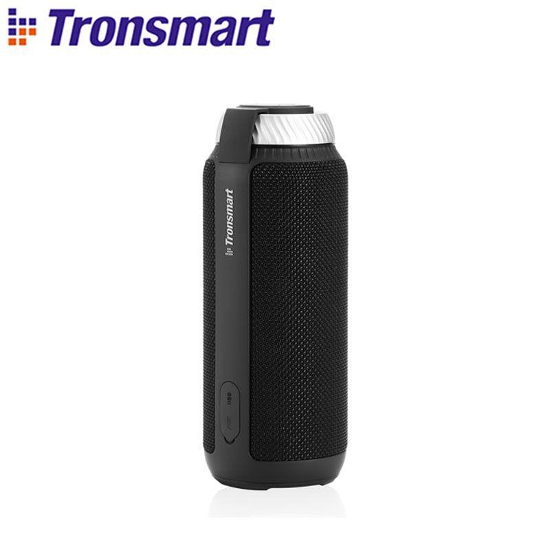 [Expédition de russie, pologne] Tronsmart T6 Bluetooth haut-parleur 25 W haut-parleurs portables barre de son colonnes de basses profondes avec 360 de son