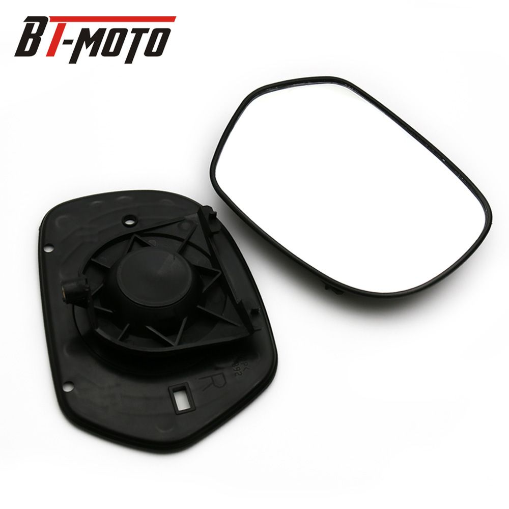 New Genuine Right&Left Mirrors Glass Fits For Honda 2001-2012 GL1800 Goldwing 1800 2011 2010 2009 2008 F6B 2013-2016 2015 2014
