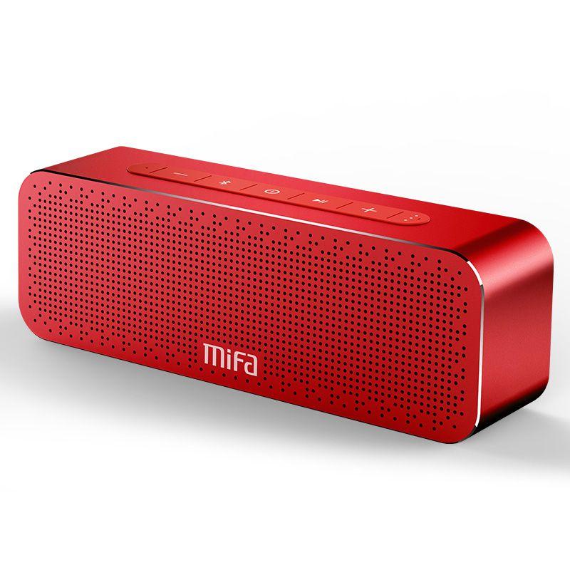 MIFA Tragbare Bluetooth Lautsprecher Wireless Stereo Sound Boombox Lautsprecher mit Mic Unterstützung TF AUX TWS