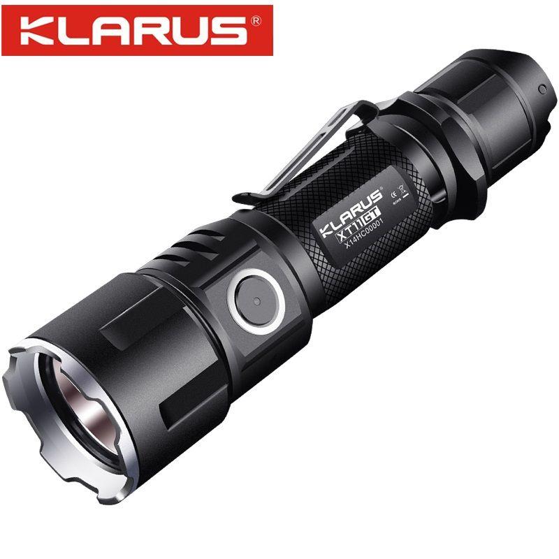 Новый Кларус xt11gt CREE xhp35 LED 2000 lm 4 Режим тактический светодиодный фонарик + бесплатная USB Порты и разъёмы и 18650 Бэтти для самообороны
