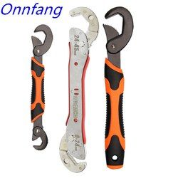 Ho Tidak Adjustable Spanner Multi-Fungsi Universal Wrench Alat Perbaikan Rumah Kunci Tangan Alat Multi Purpose Universal Pipe Wrench