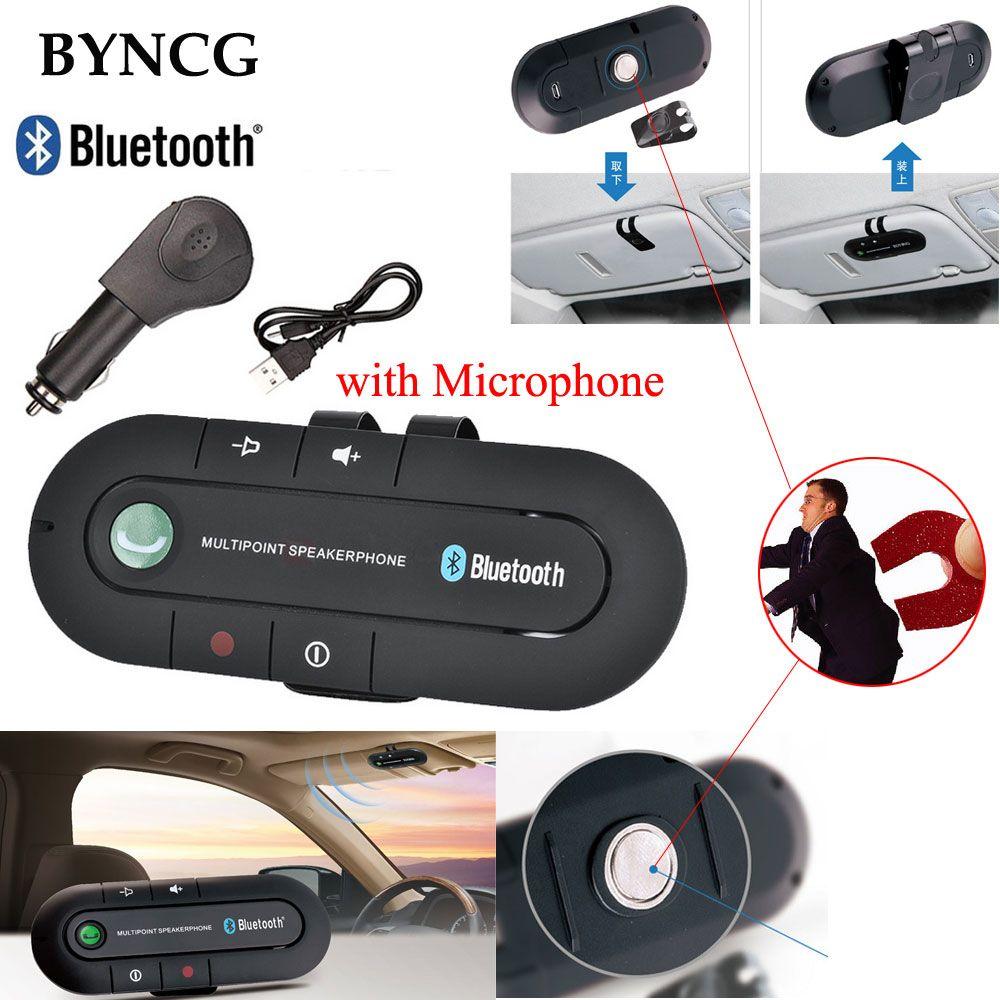 Беспроводной Bluetooth 4.1 Kit Громкая бас стерео A2DP аудио Музыка приемник адаптер громкой связи с микрофоном для MP3 MP4