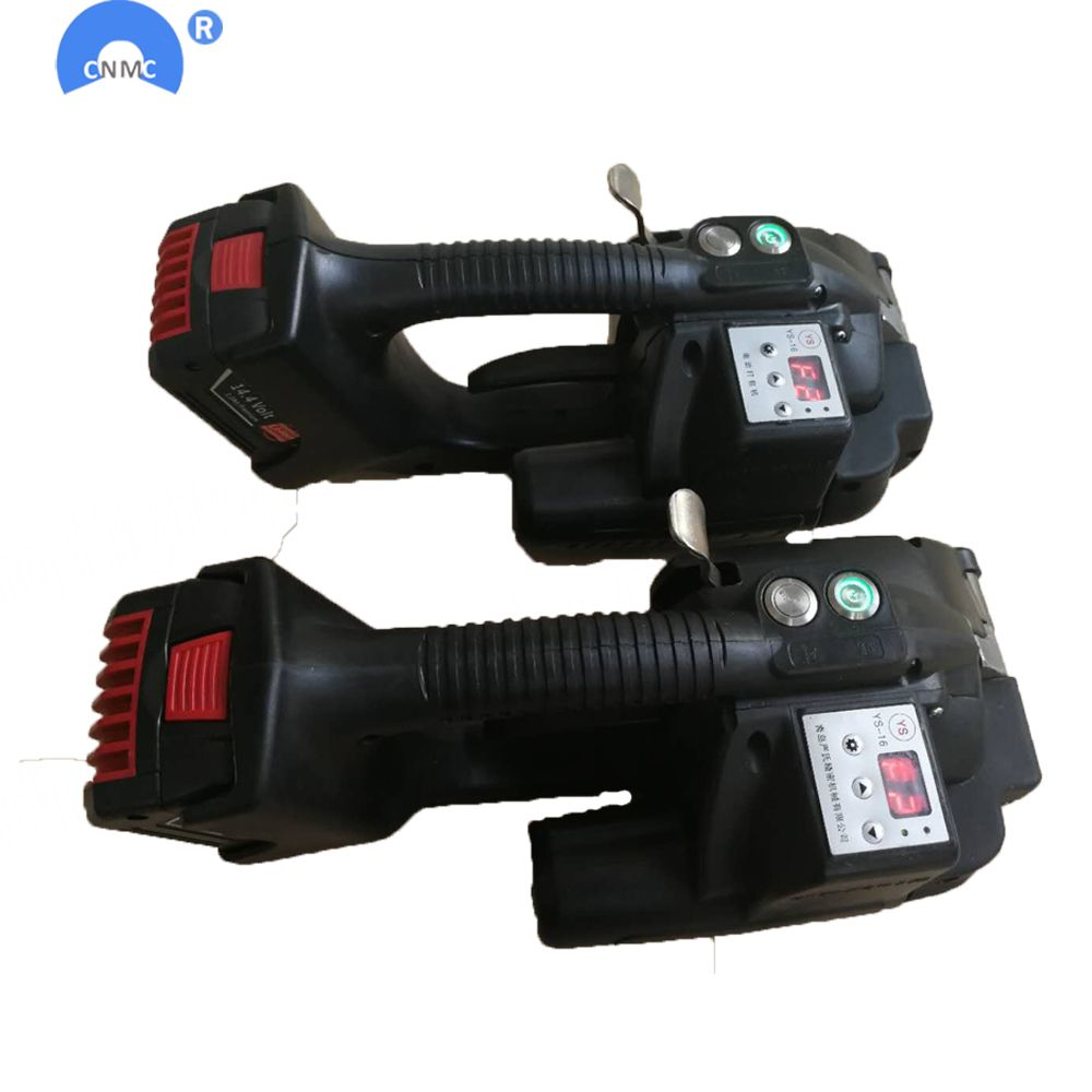 Battery Powered 13mm-16mm PET PP Strapping Tools For Pallet strapping machine electrical