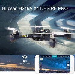 Hubsan H216A X4 Keinginan Pro RC Pesawat Tak Berawak Helikopter Kamera Wifi 1080 P Ketinggian Terus Titik Arah Headless Modus Helikopter Remote Control
