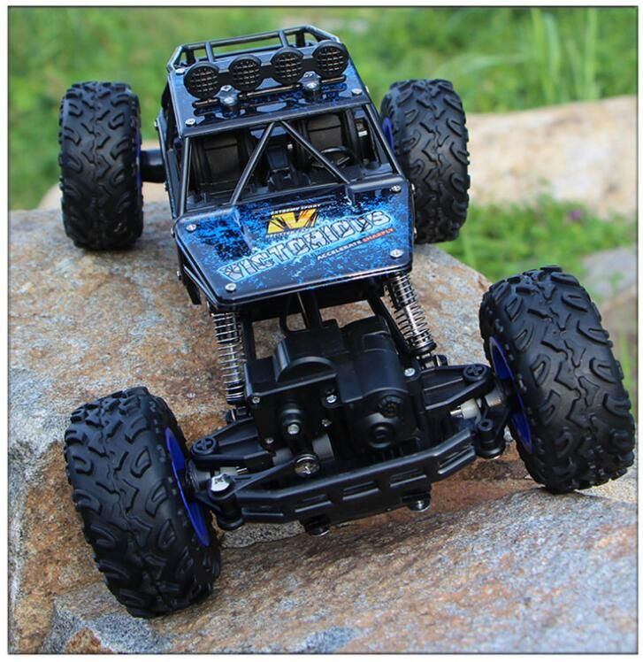 28cm Adult children toys 1:16 4 channel 4WD 2.4G high speed gun type Remote control RC drifting climb cross-country car jeep