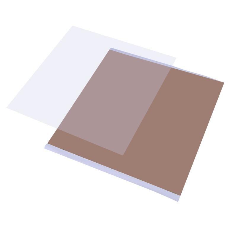 300x300x1mm PEI Blatt für 3D Druck mit 468MP Klebeband PEI 3D Print Bauen Oberfläche Polyetherimide zubehör