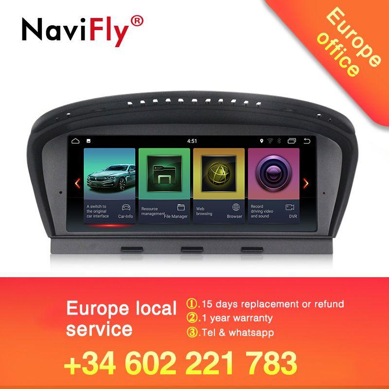 Großhandel! NaviFly reine Android 7.1 auto radio multimedia player für BMW 5 Series E60 E61 E63 E64 E90 E91 E92 CCC CIC system