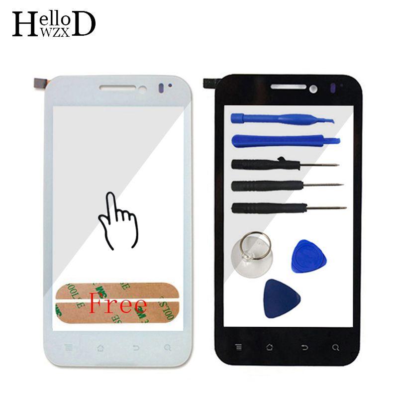 4.0 дюйма + + + Touch Стекло для Huawei Honor U8860 Сенсорный экран Стекло планшета Панель объектив Сенсор touch Экран спереди Стекло клей