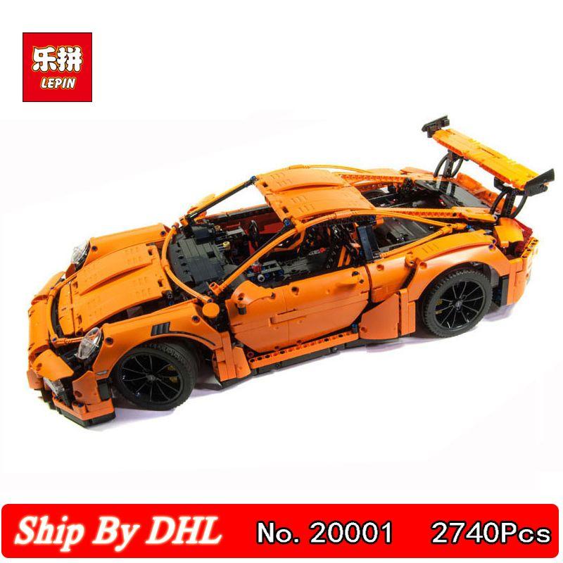 DHL Shipping Lepin 20001B technic series Race Car F1 Formula Cars Building Kits Blocks Bricks Educational Toy 42056