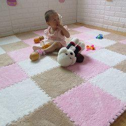 Baby Playmats Kids EVA Foam Carpet Developing Toddler Crawling Fun Activity Play Center Motor Skills Puzzle Mat 8pcs in a bag