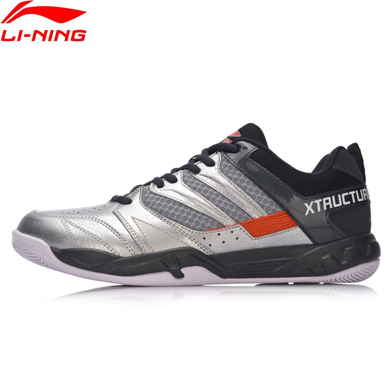 Li-Ning Hommes ATTAQUANT Chaussures De Badminton Professionnel Fitness Formation Sneakers Confort Antidérapant Doublure Sport Chaussures AYTN025 XYY069