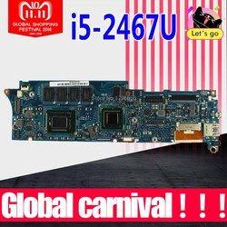 UX21E Papan Utama I5-2467m CPU-4GB Ram UNTUK ASUS UX21E Motherboard Laptop UX21E Mainboard UX21E Papan Utama Test 100% OK