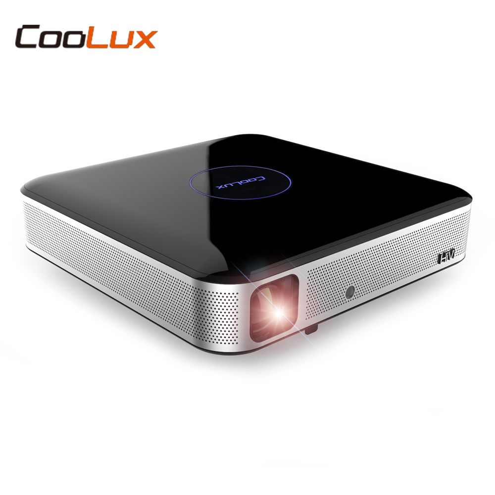 COOLUX S3 900 ANSI DLP Projector Home Theater 1280 x 800P Support 4K 2.4 / 5GHz WiFi Bluetooth 4.0 Remote Focus