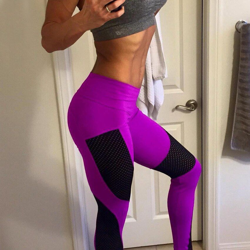 [AoSheng] 2019 frauen sexy sportswear leggins sommer push-up-leggings workout fitness hohe taille sporting legins plus größe s XXXL