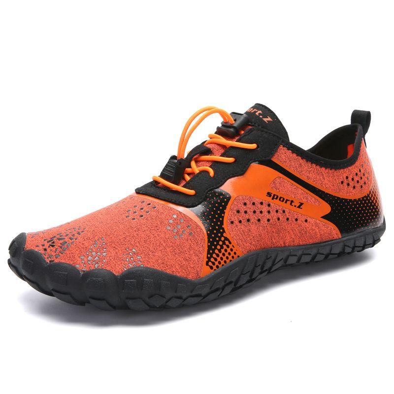 Aqua chaussures chaussures d'été hommes respirant plage pantoufles en amont chaussures adulte femme natation sandales plongée chaussettes Tenis Masculino