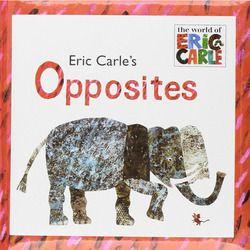 Eric Carle Berlawanan Oleh Eric Carle Gambar Buku Buku Cerita Kartu Pembelajaran Pendidikan Bahasa Inggris Untuk Anak-anak Anak-anak Bayi Hadiah