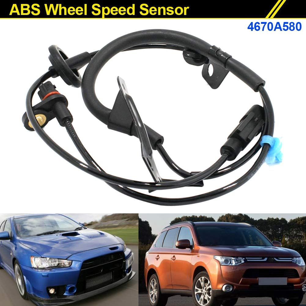 New Rear Right ABS Wheel Speed Sensor Fits For 2007-2012 Mitsubishi Outlander 2WD Lancer ASX 4670A580 CSL2017