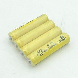 JNKXIXI 8PCS/LOT Free Shipping aaa Rechargeable Batteries 2200mAh Ni-MH Rechargeable AAA Battery