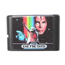 Micheal Jackson's Moonwalker EU/US Shell 16 bit MD Game Card For Sega Mega Drive For Genesis