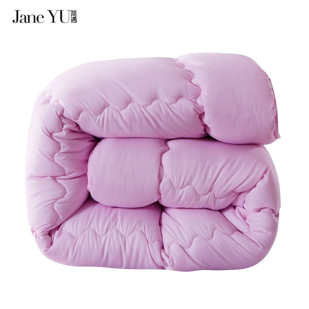 JaneYU Simple brief quilting winter duvet comforter quilt blankets 100% polyester microfiber Twin/Full/Queen/King size comforter