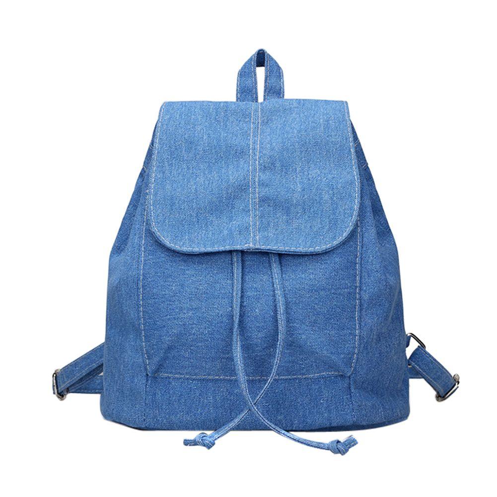 Suave Lona de las mujeres mochila con cordón Mochilas y bolsas para el colegio femenino mochilas para adolescentes Niñas mochilas escolares para adolescentes 2017