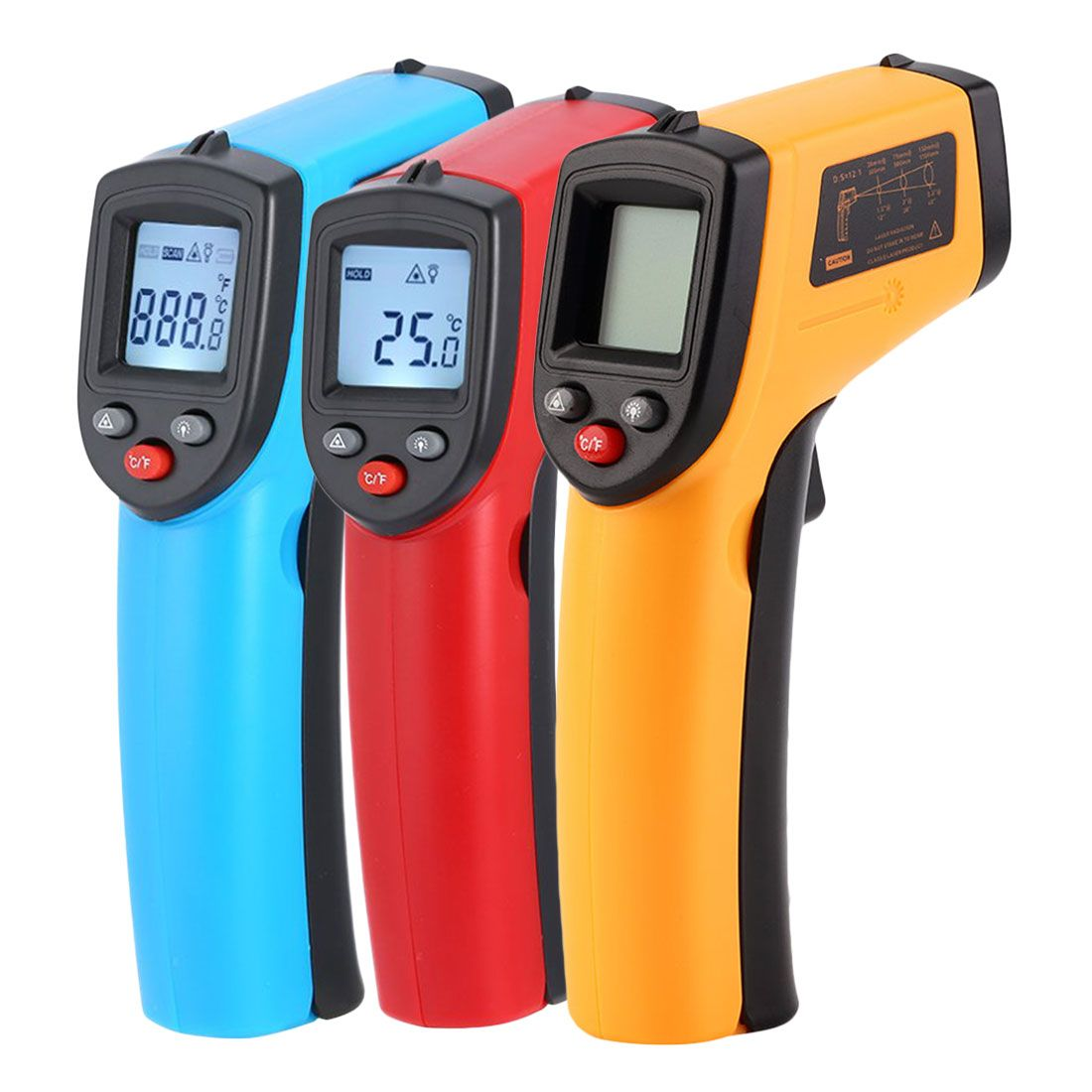 -50~380C Digital GM320 Infrared Thermometer Non Contact Infrared Thermometer Pyrometer IR Laser Temperature Meter Gun