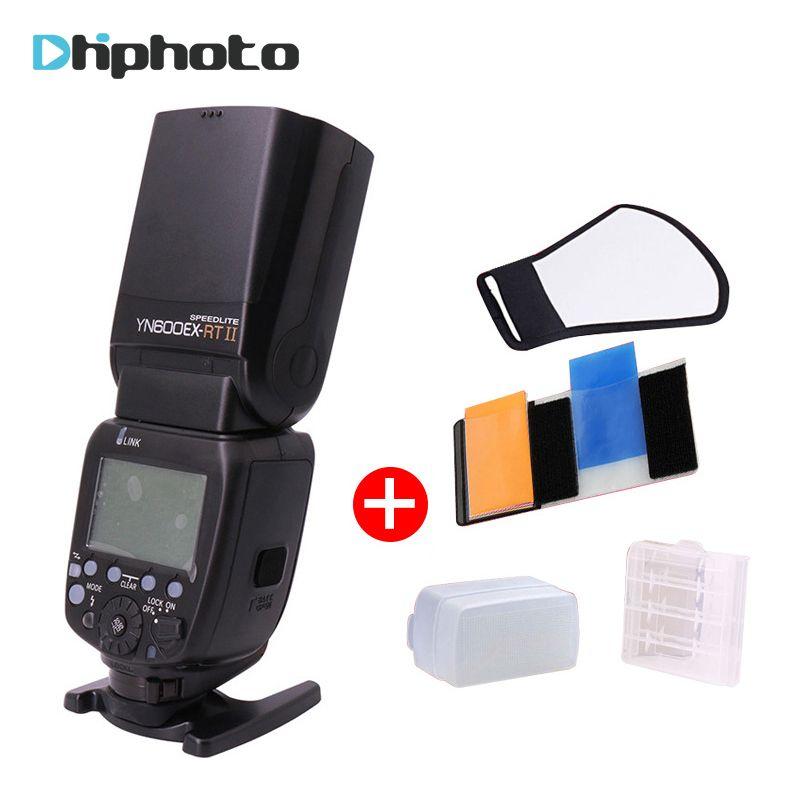 YONGNUO YN600EX-RT II Flash Speedlite 2.4G Wireless HSS 1/8000s Master TTL Speedlight for Canon DSLR as 600EX-RT YN600EX RT II