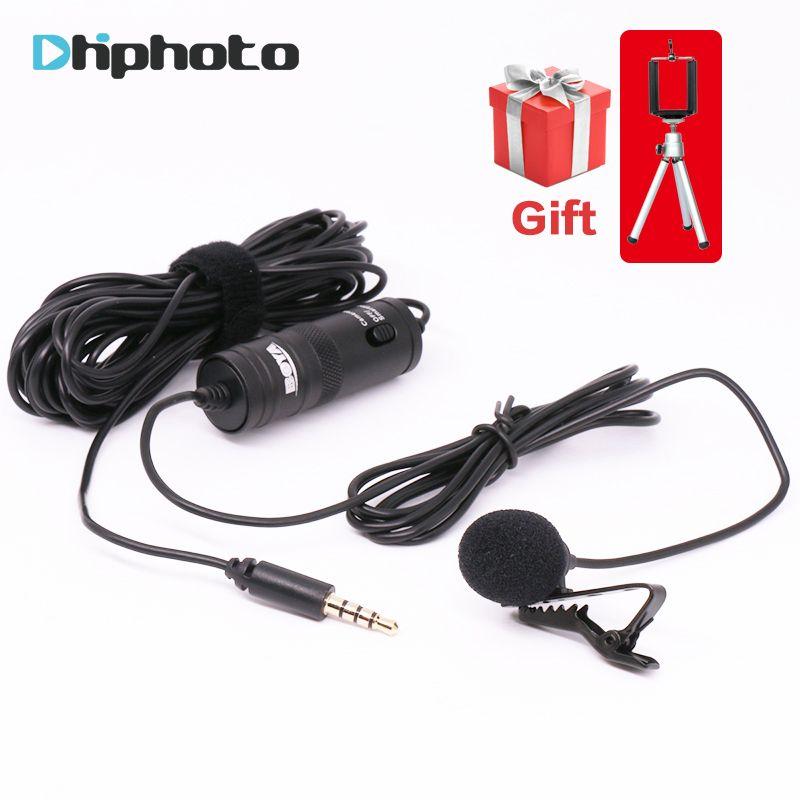 BOYA Всенаправленный Петличный конденсаторный микрофон петличка микрофоны для iPhone Canon Sony DSLR для Видеокамеры Аудио Аудио рекордерах