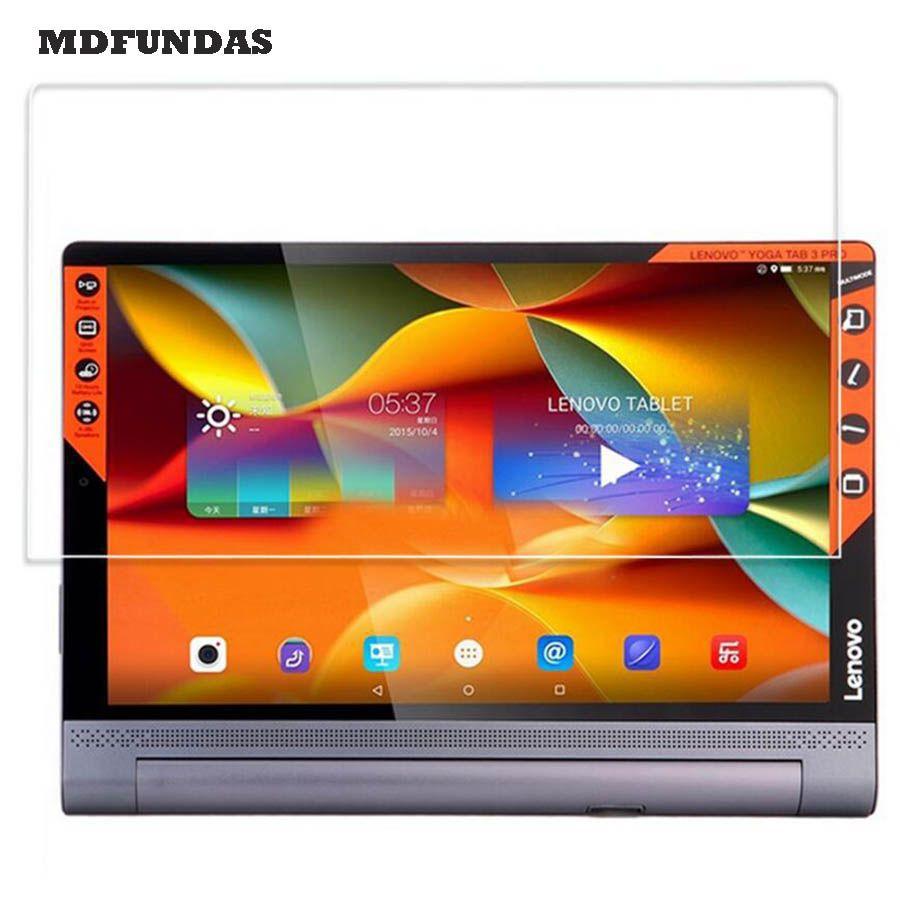 Pour Lenovo Yoga Tab 3 Plus 10.1 Pouce Tablet Pad Protecteur D'écran En Verre trempé 2.5D 9 H Dureté En Verre Transparent Film MDFUNDAS
