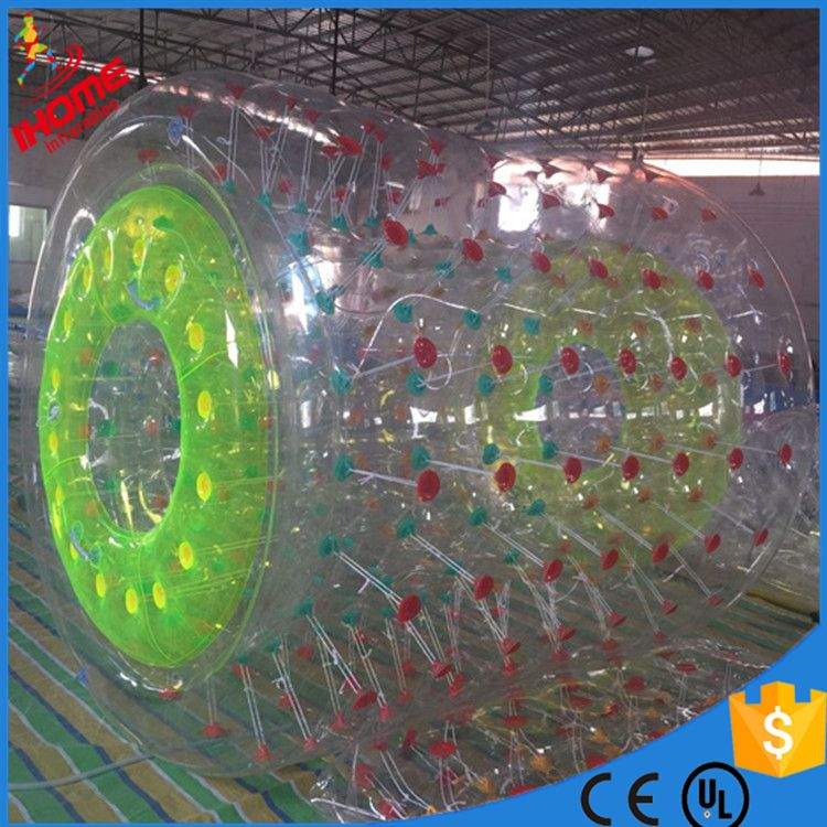 PVC inflatable water roller inflatable walking roller ball inflatable water roller ball