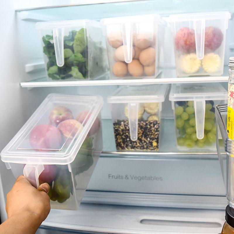 Cuisine réfrigérateur boîte de rangement Grains haricots organisateur conteneur maison organisateur alimentaire légumes conteneur boîtes de rangement