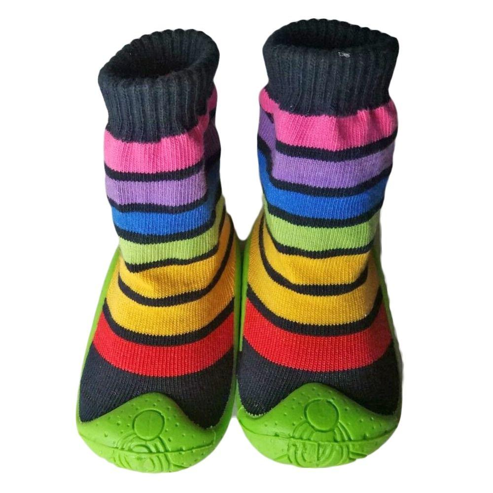 Bebé de Goma Suave De Fondo antideslizante Piso Calcetines de Los Zapatos de Bebé Niño Niños Zapatos Deslizador De interior YD589