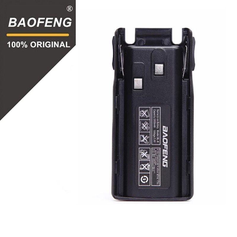 100% Original Li-Ion Baofeng UV-82/UV-8D Battery 2800mah BL-8 For Radio Walkie Talkie UV8D Accessories Pofung UV82