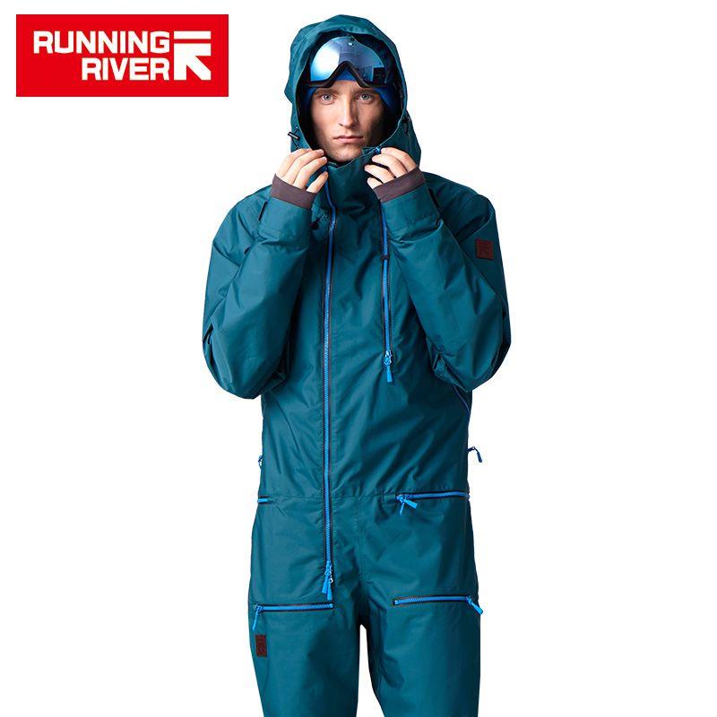RUNNING RIVER Brand Waterproof Jacket For men Snowboarding Suit men Snowboard Jacket Male Snowboard Set Clothing #B7096