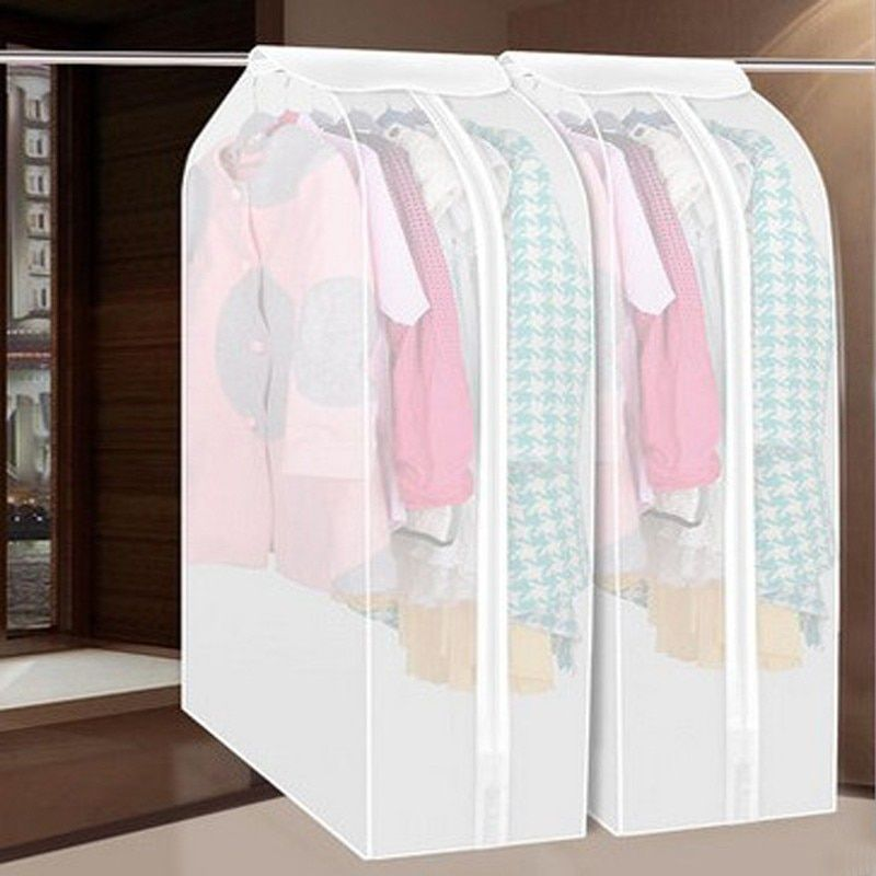 Vacuum bags for Storing Clothes Garment Bag Suit Coat Dust Cover Protector Wardrobe Storage Bag Case for Clothes Organizer