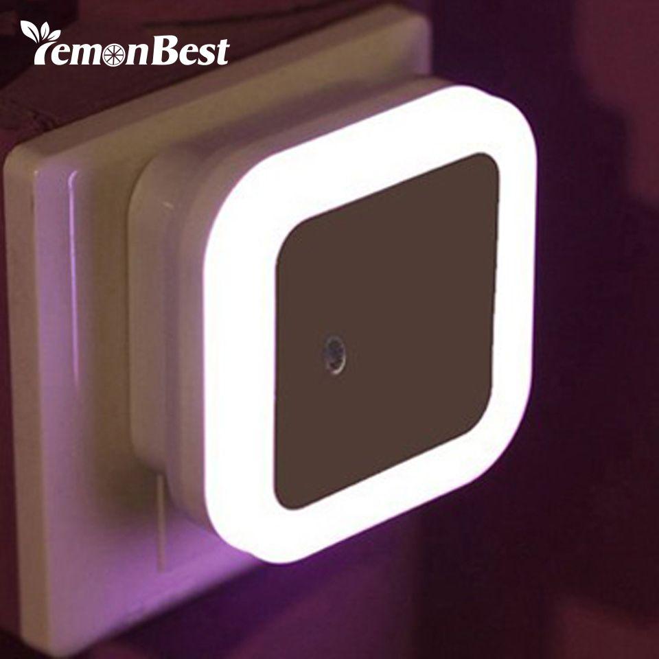 LemonBest New Fashion LED Night light EU US Plug Colors Novelty Bed Lamp For Baby Bedroom Gift Romantic Colorful Lights