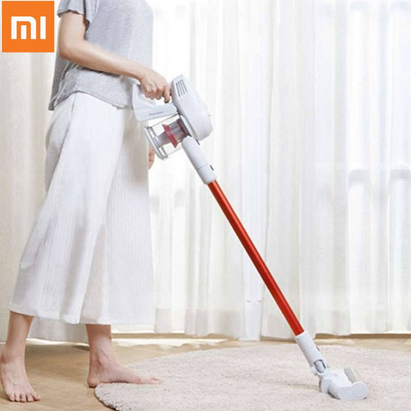Xiaomi Robot Vacuum Cleaner Mijia JIMMY JV51 Cordless Vacuum Cleaner Handheld Upright Dust Cleaner Sweeper for Home Cleaning