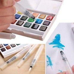 Peinture brosse l/m/s Waterbrush Réservoir D'eau Calligraphie Brosse Stylo Aquarelle calligrahy brosse art marqueur stylo AHB009