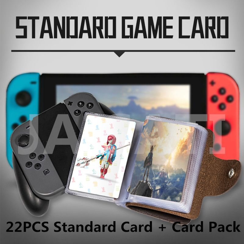 22pcs NTAG215 NFC Card  Written by Tagmo Can Work For Switch The Breath of the Wild-Whole Work Heart Wolf Link Fierce Deity Gift