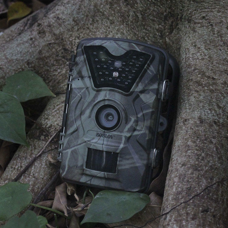 BOBLOV CT008 Wildlife Trail Foto Falle Jagd Kamera 12MP 1080 P 940NM Wasserdichte Video Recorder Kameras für Sicherheit Bauernhof Schnelle