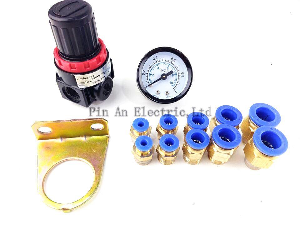 AR2000 G1/4 ''Pneumatique mini air régulateur de pression d'air traitement unités