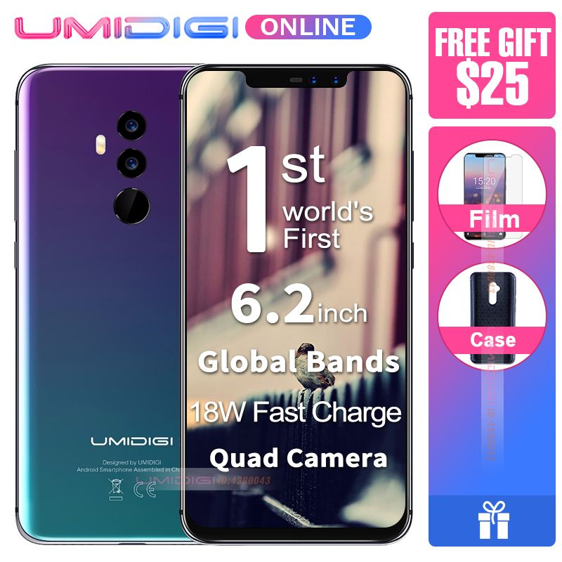 UMIDIGI Z2 Global Version 6.2