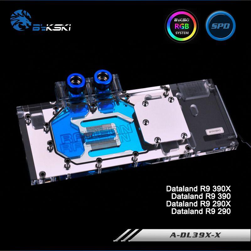 Bykski A-DL39X-X Full Cover Grafikkarte Wasserkühlung Block RGB/RBW/ARUA für Dataland R9 390X/390/290X/290