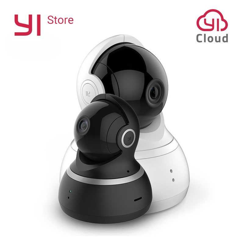 YI dôme caméra IP Cam 1080 P panoramique/inclinaison/Zoom système de Surveillance de sécurité sans fil complet couverture à 360 degrés Vision nocturne ue/US