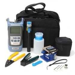 Para FC-6S Fibra óptica FTTH kit de herramientas Fibra y AUA-60S Fibra cuchilla potencia óptica Meter3-5KM visual localizador Alambres stripper