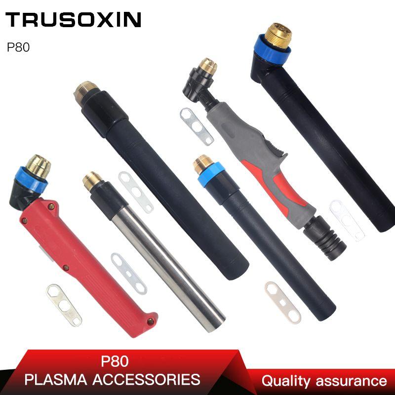 P80 pour Machine à souder et coupeur de Plasma/tête de torche de Machine de découpe/coupe de Plasma refroidi par Air 100A 120A torche/pistolet de coupe